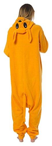 Katara 1744 -Kangaroo Kostüm-Anzug Onesie/Jumpsuit Einteiler Body für Erwachsene Damen Herren als Pyjama oder Schlafanzug Unisex - viele verschiedene Tiere (Kangaroo Maske)