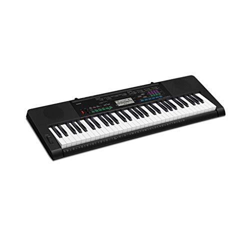 LIUFS-Tastatur Tastatur Kinder Erwachsene Professionelle Prüfung Stufe 61 Tastenstarke Tonstärke-Tastatur ( Farbe : SCHWARZ ) -
