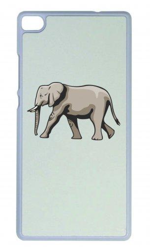 Smartphone Case Elefante va Avorio animali Africa giungla selvaggia per Apple Iphone 4/4S, 5/5S, 5C, 6/6S, 7& Samsung Galaxy S4, S5, S6, S6Edge, S7, S7Edge Huawei HTC-Divertiment