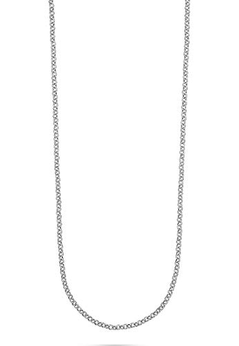 JETTE Silver Damen-Kette 925er Silber rhodiniert silber, One Size