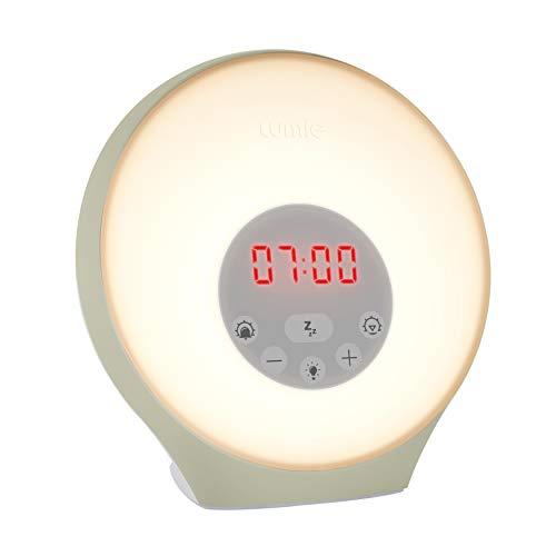 Lumie Sunrise Alarm - Sunrise Wake-up Alarm, Sunset Sleep Feature, Sounds & Mood Lighting Best Price and Cheapest