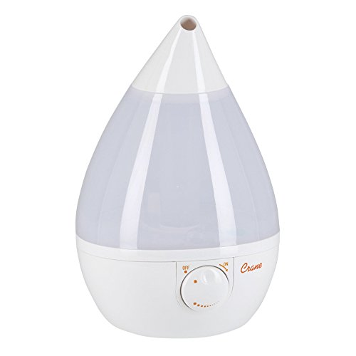 Grúa ultrasónico Cool Mist humidificador blanco blanco