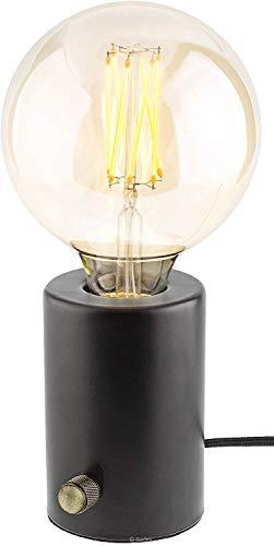 Gadgy ® Lámpara de Mesa Regulable| Color Negro | Retro Vintage Diseño Moderno e Industrial...