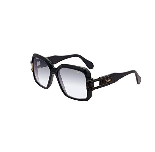 Gafas de sol Cazal Leyendas Vintage 623 011 Mat Negro Oro Gris degradado  lente nuevo 173fa582191