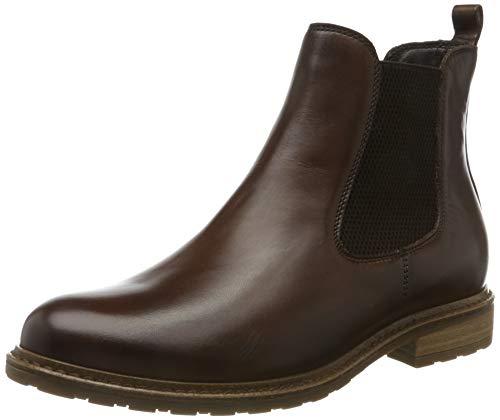 Tamaris Damen 1-1-25056-23 Chelsea Boots, Braun (Muscat Leather 356), 41 EU