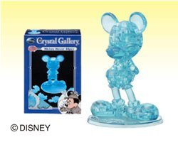 Crystal 3D Puzzle Disneys Mickey Mouse (blue edition) (japan import)