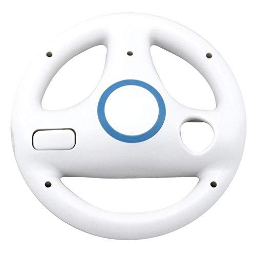 Petterson Racing Game Lenkrad Für Nintendo Für Wii Controller Richtung Manipulieren Rad Fernbedienung Schutzhülle (weiß)