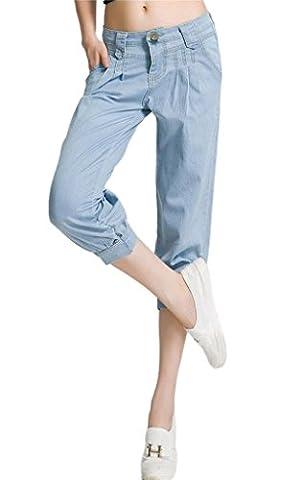 Fashion Jeans délavé Harem femme pantalon pour