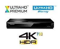 Panasonic 4K Ultra HD Blu-Ray Player With Multiregion DVD playback Model DMP-UB300 / DMPUB300 - Same Family as DMP-UB700 / DMP-UB900 / DMP-UB400- INCLUDES A 4K ULTRA MOVIE - Black