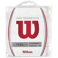 Wilson Pro OG Sensation 12Pk Overgrip de tenis, Unisex adulto, Blanco (White), Única