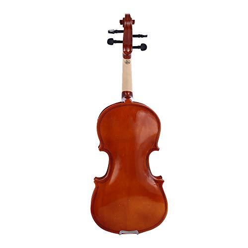 TOPmountain Acoustic Violine Geige voller Größe für Anfänger Erwachsene Jungen Mädchen Kinder (Kind Größe Violine)