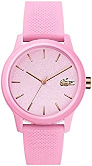 Lacoste Women'S Pink Dial Pink Silicone Watch - 200