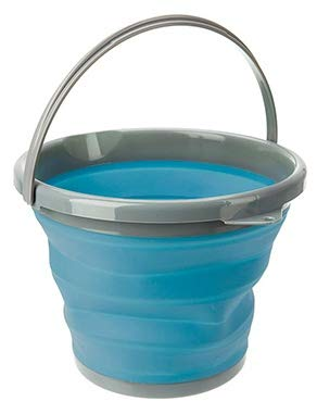 Summit Collapsible Bucket - 10L - Blue