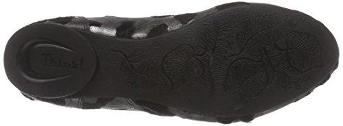 Think GUAD Damen Desert Boots Mehrfarbig (SZ/SILBER 07)