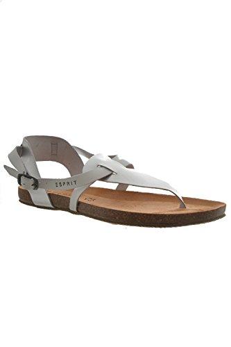 Esprit Infradito accessori aisha sandal, colore: grigio, Grigio (grigio), 39