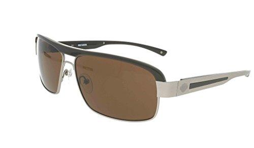 Harley-Davidson Sonnenbrille Hdx863 Si-1 (63 mm) braun/hellgrau