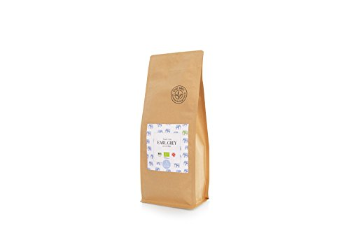 Premium Bio Earl Grey Tee Assam | Echtes Bio Bergamotten Öl | FTGFOP1 500g