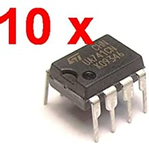 10 pcs ua741 lm741 17741 IC Op Amp Compensación ...