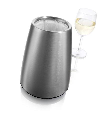 31nv57lL%2BuL - Vacu Vin - 3649360 - Aktiv Weinkühler Elegant Edelstahl