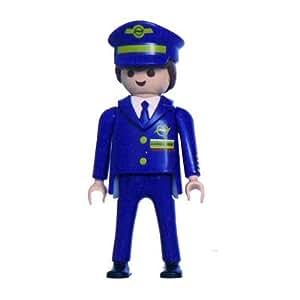 Playmobil - Porte clés - Playmobil : Agent d'Aéroport