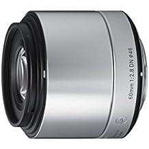 Sigma 60mm f2,8 DN Objektiv (Filtergewinde 46mm) für Sony-E Objektivbajonett silber