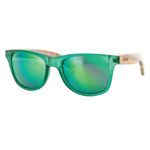 Carve Bronte Sonnenbrille Green/Bamboo Green Revo