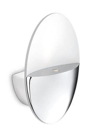 Philips Ledino Applique LED Aluminium Chrome 2 x 25 (2 Metal Parete)