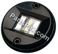 sea-dog Line 400063 – 1 BLK LED Round Transom Light by sea dog (Blk-line)