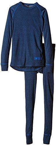 Twentyfour Kinder Warme Unterwäsche Set Aktivio für hohe Aktivität, Marine, 116