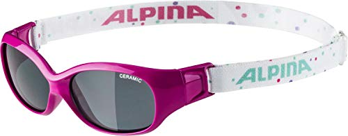Alpina Unisex Jugend Sports FLEXXY Kids Sportbrille, pink, One Size