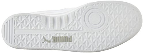 Puma, Sneaker uomo (White-Metallic Silve)