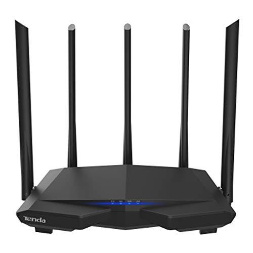 JYL WLAN-Router 11AC 2,4 GHz / 5,0 GHz Wi-Fi-Repeater 1 * WAN + 3 * LAN-Ports 5 * 6 dBi Antennen mit hohem Gewinn Smart APP Manage
