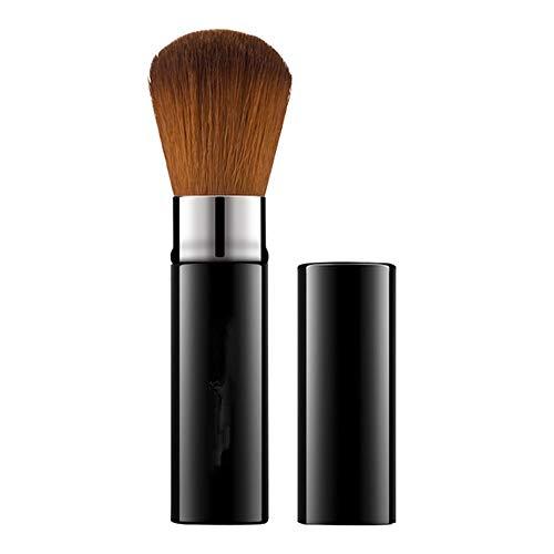 yyy123 Outils De Beauté Brosse De Maquillage Télescopique Noir Brosse en Poudre Lâche Brosse Portable Blush Brosse Poudre De Miel Brosse Tête Ronde