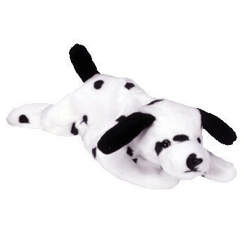 TY BEANIE BABY SPARKY DOG/PUPPY by Ty