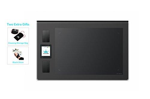 HUION DWH69 5080líneas por pulgada 228 x 152mm USB Negro tableta digi