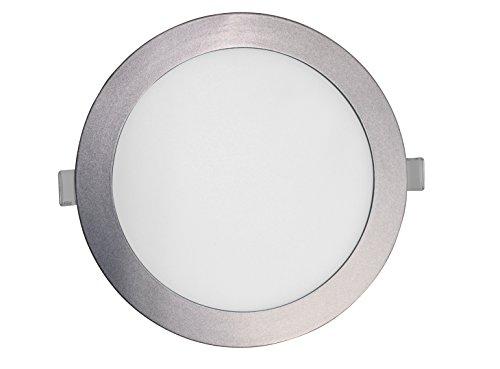 SevenOn LED 64257 Downlight LED SMD extraplano redondo, aluminio mate, 18W, 120º, 1600 lúmenes, 4000K, blanco neutro, IP20. No regulable.