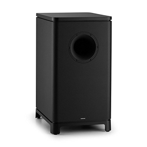NUMAN Ambience • 5.1 Surround-Sound System • Heimkinosystem • 120 Watt RMS • Impendanz: 4 Ohm • Aktiv-Mono Subwoofer • 25,4 cm (10