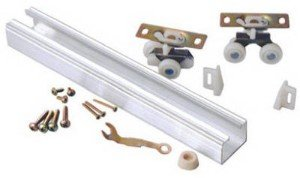 2 each: L.E. Johnson Sliding Door Hardware Set (100721DR) [Misc.]