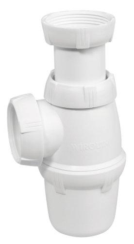Wirquin SP3213  Siphon d'évier réglable NF 1″ ½  Diamètre 40 mm