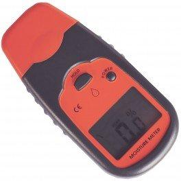Cissonius Misuratore di umidità per legna da ardere e pellets, Igrometro digitale per la misurazione dei valori dell\'umidità