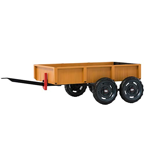 Bergtoys Tandem Trailer L, Orange