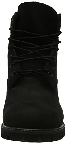 Premium 6 Nubuck Black Timberland Inch Waterproof Classiques Homme qHYSfS
