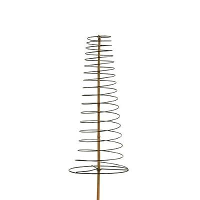 Xclou Garden Pflanzstab Spiralstütze aus Draht Mehrfarbig, Ø Draht ca. 3,2 mm, unterer, Ø ca. 30 cm, max. 150 cm hoch von greemotion auf Du und dein Garten