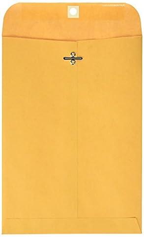 Clasp Envelope, 7 1/2 x 10 1/2, 28lb, Light Brown,