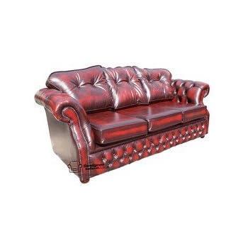 Designer Sofas4u Chesterfield Era 3 Seater Settee Traditional Chesterfield  Sofa Antique Oxblood