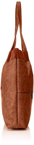 Bulaggi - Maudlyn Shopper 30166, Sacchetto Donna Marrone (Marrone (Cognac))