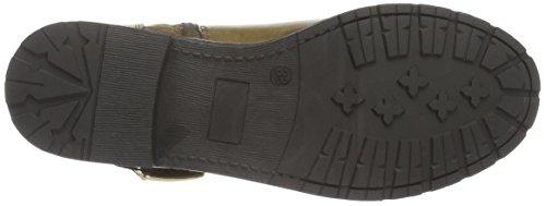 HIS - 46181, Stivali bassi con imbottitura leggera Donna Beige (Beige (tortora))