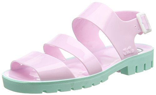 JuJu ShoesDAISY - Sandali donna , Rosa (Pink (Baby Pink/ Baby Green)), 36