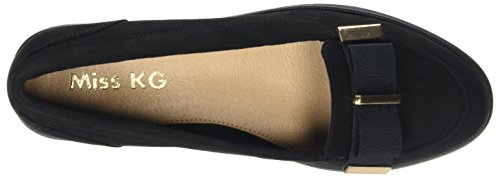 Miss KG Damen Neema Slipper Schwarz (Black)