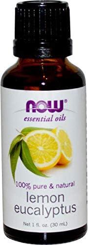 زيوت عطرية من ناو فودز - الكينا والليمون سعة 1 اونصة سائلة (30 مل)